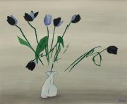 Tulpen (nach einer Blindzeichnung)